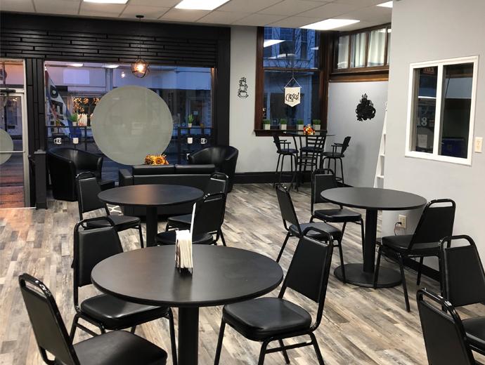 Vertical Cafe - inside
