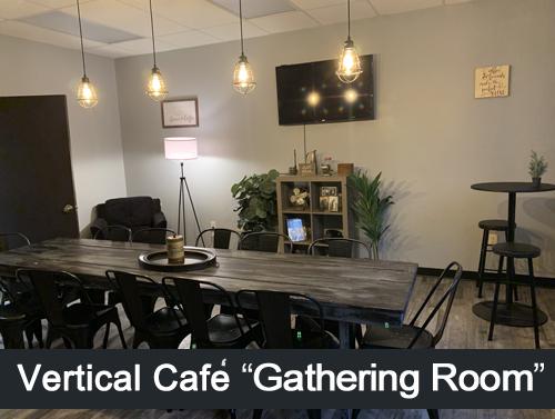 Vertical Cafe conference room